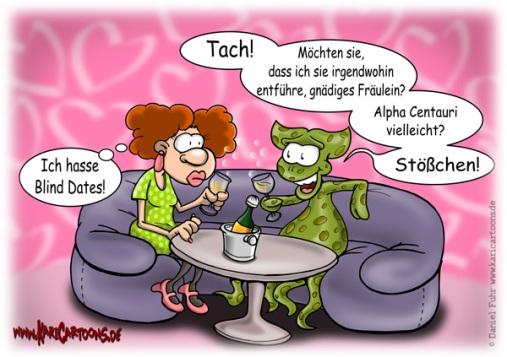 blind dating biologien