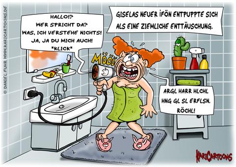 Sinnlos cartoons karikaturen illustrationen von daniel fuhr - Badezimmer comic ...