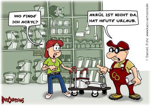 Baustelle haus comic  Handwerker | Cartoons, Karikaturen & Illustrationen von Daniel Fuhr
